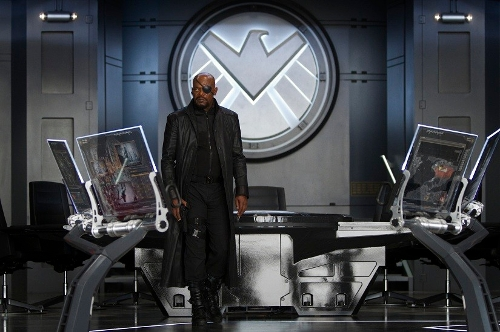 Custom Made 'Nick Fury' Cargo Pants by Alexandra Byrne (Costume Designer) in Marvel's The Avengers