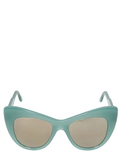 Cat-Eye Acetate Sunglasses by Stella McCartney in Brooklyn