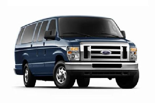 E-Series Wagon E-350 XLT Extended by Ford in Iron Man 3