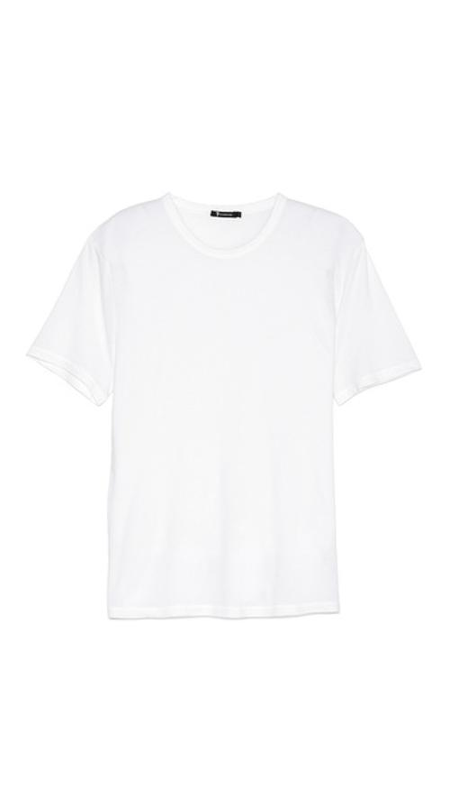 Classic Short Sleeve T-Shirt by T by Alexander Wang in Contraband
