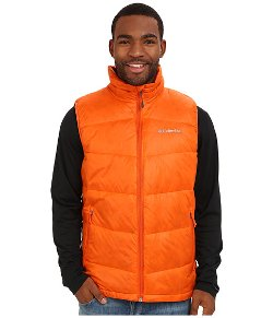 Gold TurboDown Down Vest by Columbia in Get Hard