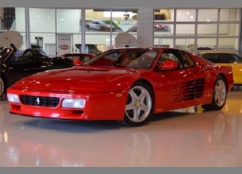 Testarossa 512 TR by Ferrari in The Wolf of Wall Street