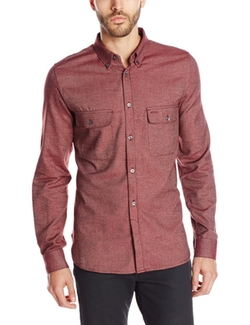 Men's Soft Underground Button-Front Shirt by French Connection in Silicon Valley