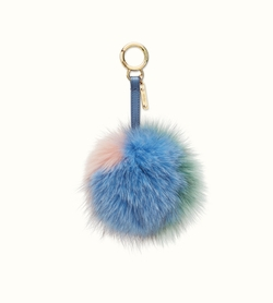 Pompon Bag Charm by Fendi in Keeping Up With The Kardashians