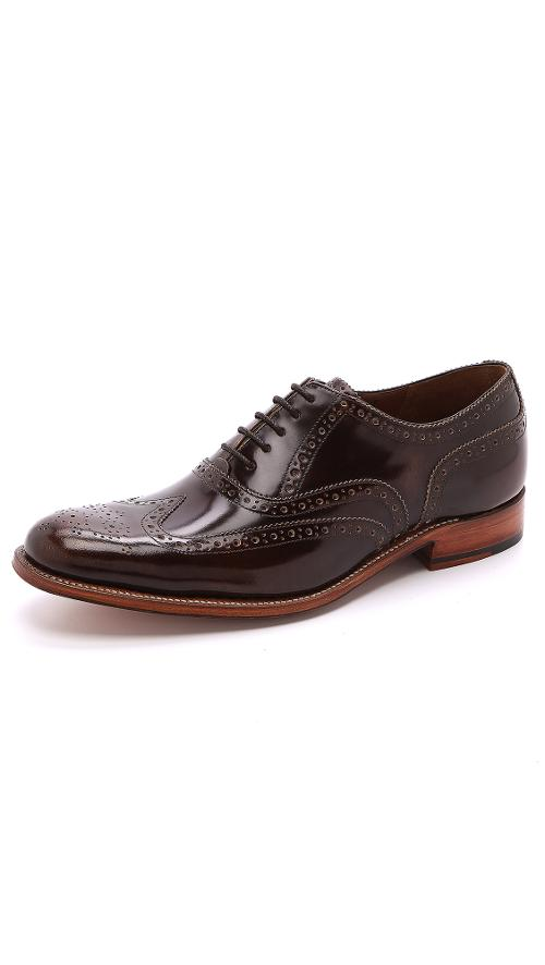 Dylan Lace Up Wingtips by Grenson in Get On Up