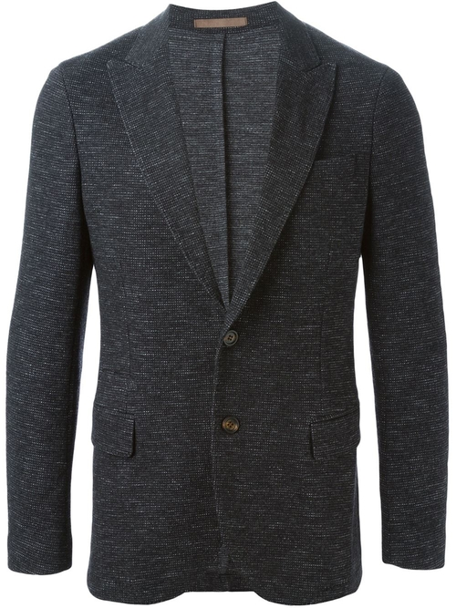 Peaked Lapel Blazer by Eleventy in Master of None - Season 1 Episode 2
