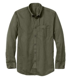 Mens Signature Twill Shirt by Eddie Bauer in McFarland, USA