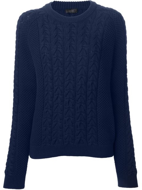Cable Knit Sweater by Joseph in Everest