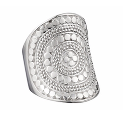 Beaded Saddle Ring by Anna Beck in The Boss
