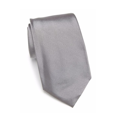 Solid Silk Tie by Armani Collezioni in Suits - Season 6 Episode 6