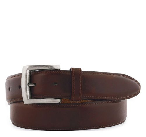 Waxed Leather Belt by Johnston & Murphy in Pitch Perfect 2