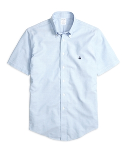 Short-Sleeve Sport Shirt by Brooks Brothers in Easy A