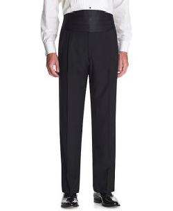 The Great Gatsby Collection High-Rise Tuxedo Trousers by Catherine Martin (Costume Designer) and Brooks Brothers (Tailor) in The Great Gatsby