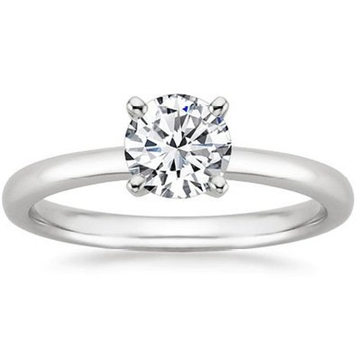 Solitaire Diamond Engagement Ring by Houston Diamond District in Valentine's Day