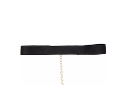 Thin Satin Choker Necklace by Bartoli in New Girl