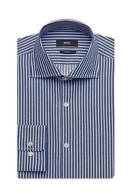 Miles US Dress Shirt by Boss in Midnight Special