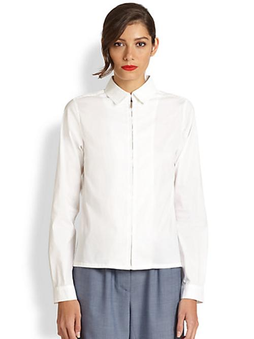 Zip Dress Shirt by Creatures of the Wind in The Hundred-Foot Journey