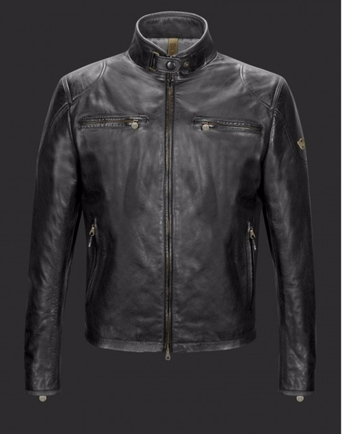Osborne Blouson Leather Jacket by Matchless in The Night Manager - Season 1 Looks