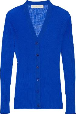 Ribbed Wool Cardigan by Stella Mccartney in Laggies