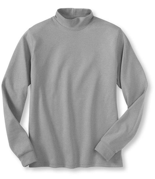 Men's Interlock Mock-Turtleneck by L.L.Bean in Addicted