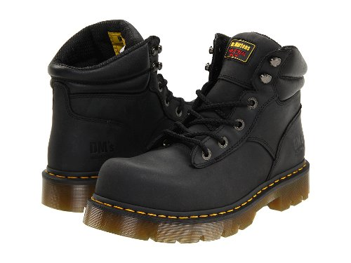 Burnham ST 6 Tie Boots by Dr. Martens Work in The Matrix