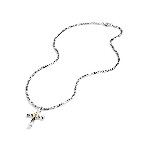 X Cross Necklace by The Cable Classic Collection in Fast Five