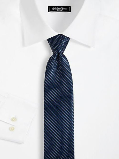 Printed Silk Tie by Brioni in John Wick
