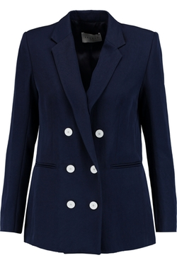 Vice Twill Blazer by Sandro in Pretty Little Liars