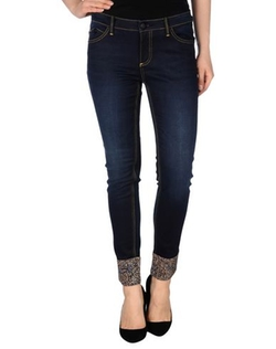 Faded Effect Denim Pants by Black Lerock in Modern Family