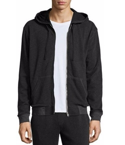 French Terry Zip-Up Hoodie by ATM  in Justice League