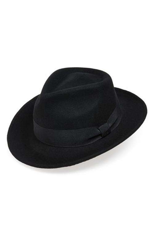 Wool Fedora Hat by Glory Hats by Goorin in Safe House