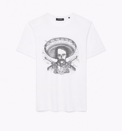 Mexican Skullhead Print T-Shirt by The Kooples in Animal Kingdom