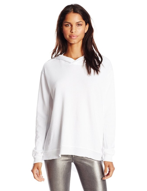 Women's Slouchy Hoodie French Terry Sweatshirt by Wilt in Keeping Up With The Kardashians - Season 12 Episode 12