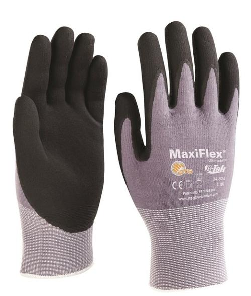 G-Tek TM MaxiFlex Seamless Knit Nylon Gloves by Go Gloves in Neighbors