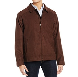 Microsuede Roosevelt Jacket by Cutter & Buck in Daddy's Home 2