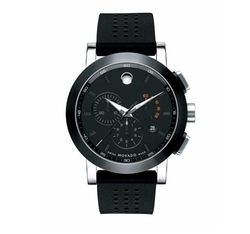 Museum Sport Chronograph Watch by Movado Bold in Power