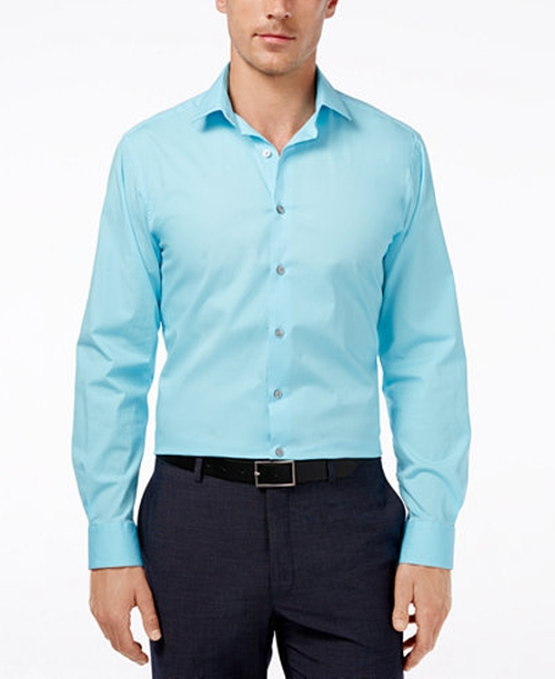 Spectrum Sea Coast Dress Shirt by Alfani in Scream Queens - Season 2 Episode 1