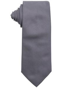 Grey Silk Tie by Armani in Life