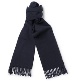 Wool And Cashmere-Blend Scarf by A.P.C. in London Has Fallen