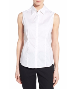 Sleeveless Blouse by Ming Wang in Flaked