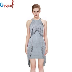 Fashion  Tassel bandage Dress by Opopark Clothing Co. in Sisters