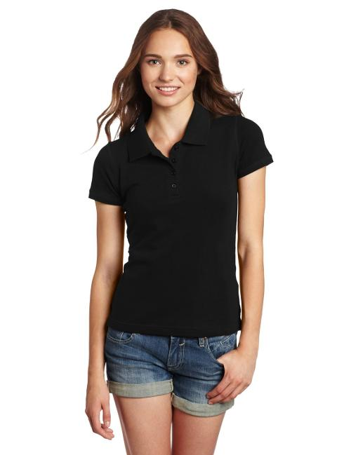 Juniors Stretch Pique Polo Shirt by Dickies in Wish I Was Here