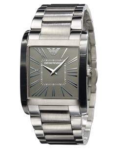 Stainless Steel Bracelet Watch by Emporio Armani in John Wick