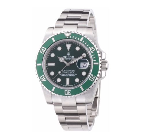 Submariner Green Dial Watch by Rolex in Silicon Valley - Season 3 Episode 9