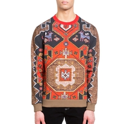 Persian Print Cotton Sweatshirt by Givenchy in Empire