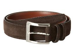 Italian Calf Suede Belt by Torino Leather Co. in Into the Storm