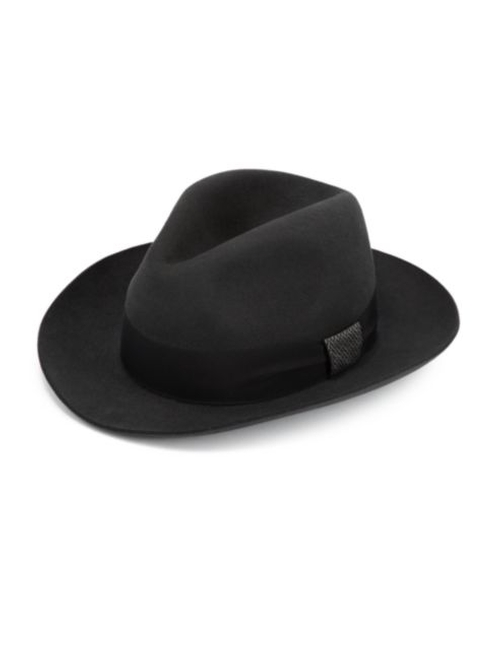 Felted Rabbit Hair Fedora Hat by Barbisio in X-Men: Days of Future Past