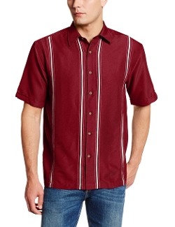 Men's Essential Short Sleeve Shirt by Cubavera in Entourage