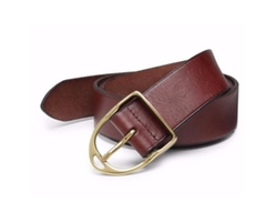 Leather Wilton Belt by Ralph Lauren in Lethal Weapon