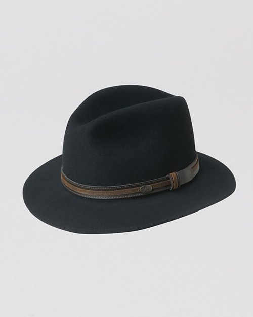 Hollywood Brandt Fedora Hat by Bailey in The Man from U.N.C.L.E.